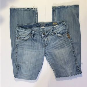 Silver Jeans Francis flare size 29